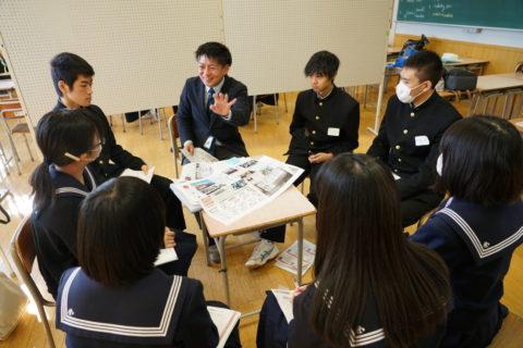 Kamaishiコンパス@釜石高校を開催しました(2019年11月30日)