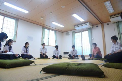 6月19日釜石高校2年生にプログラム実施しました