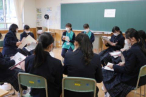 釜石商工高校で釜石コンパスを開催しました